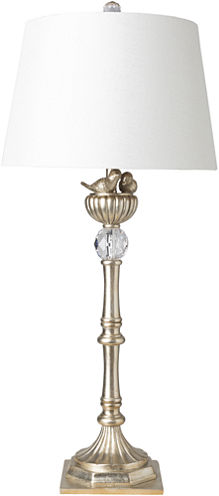 D??cor 140 Starks 15x15x33.5 Indoor Table Lamp - Gold