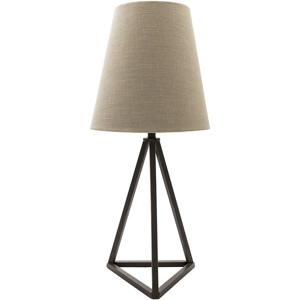 D??cor 140 Stoyer 29.5x13x13 Indoor Table Lamp - Black