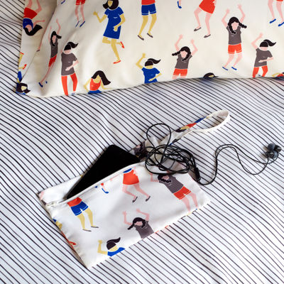 Scribble Dancers Pillowcases
