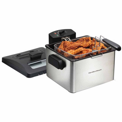 Hamilton Beach® 21 Cup Oil Capacity Professional-Style Deep Fryer