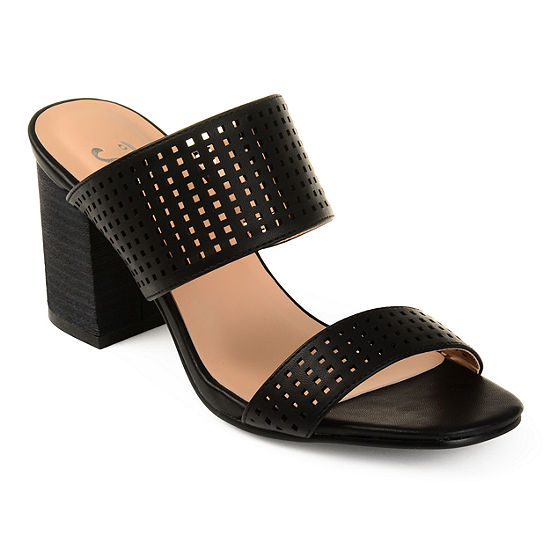 sale sneakernews discount 2014 unisex Journee Collection Sonya ... Women's High Heel Mules cheap sale pick a best visa payment outlet sast jummh2