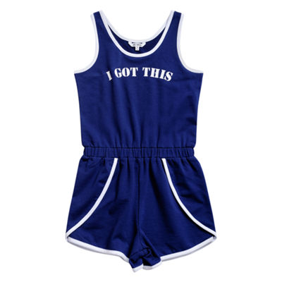 Obsess Short Sleeve Romper - Big Kid