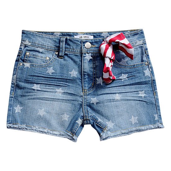 Obsess Girls Bermuda Short - Big Kid