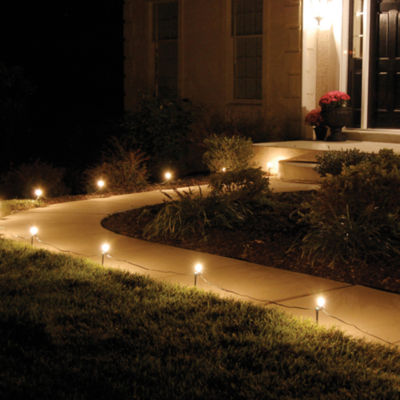 Electric Pathway Lights (Set of 10)