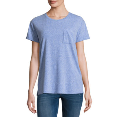 Arizona Short Sleeve Pocket T-Shirt- Juniors
