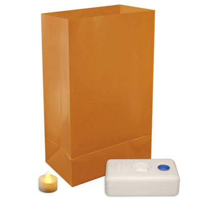 Battery Operated Luminaria Kit- Southwest  Set of12