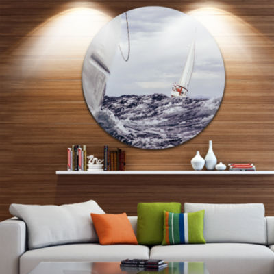 Designart Beach + Nautical Metal Wall Art
