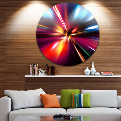 Designart Abstract Metal Wall Art