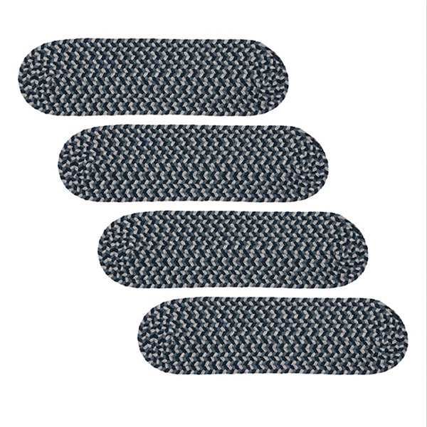 Colonial Mills Boston Common Braided Oval Reversible Stair Treads