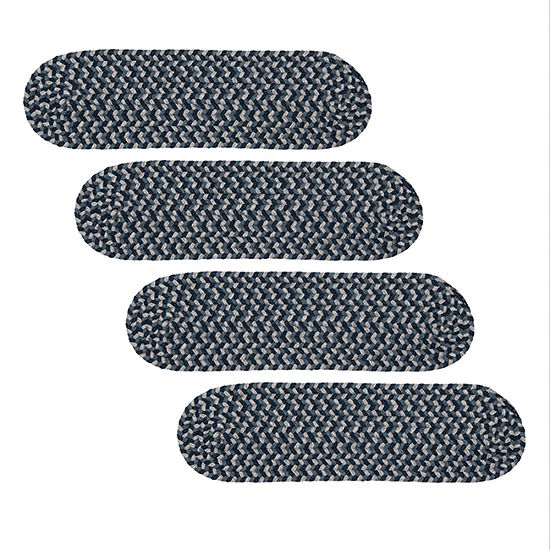 Colonial Mills Boston Common Braided Oval Reversible Indoor Stair Treads