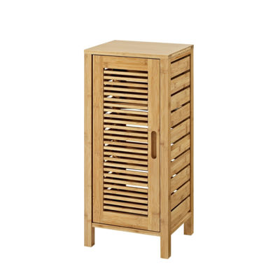 Bracken One Door Floor Bathroom Cabinet