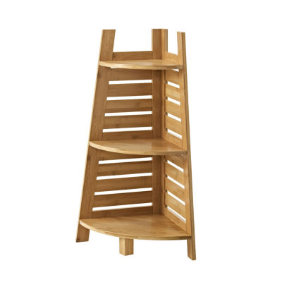 Bracken Bamboo Corner Bathroom Shelf