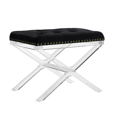 Kelsi X-Base Acrylic Leg Bench