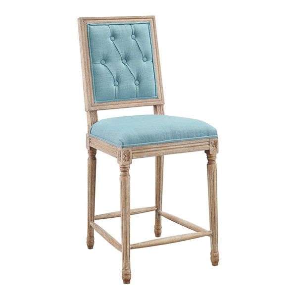 Avalon Tufted Square Back Counter Stool