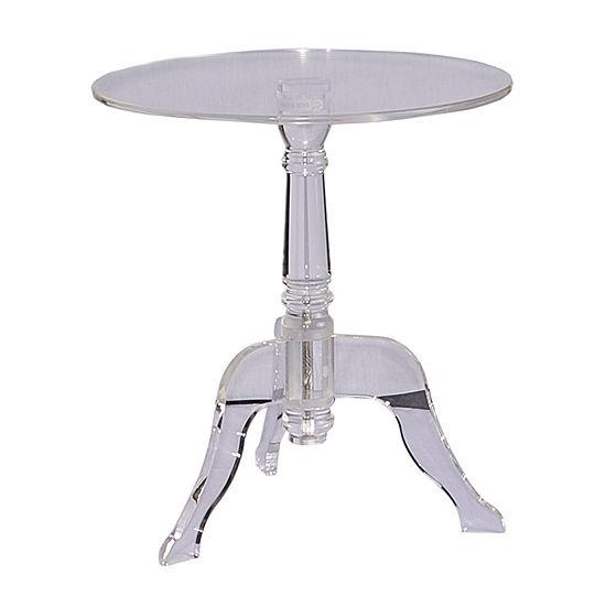 Acrylic End Table