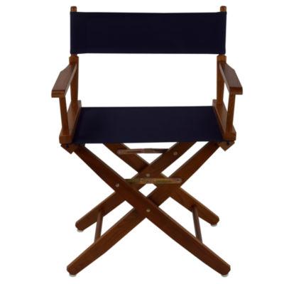 American Trails Extra-Wide Premium Directors Chair Mission Oak Frame