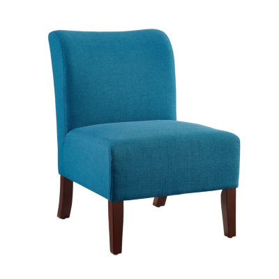 Julie Curved Back Slipper Chair