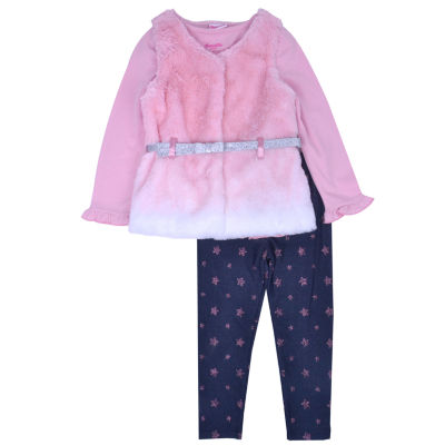 Nanette Baby 3-pc. Legging Set-Preschool Girls