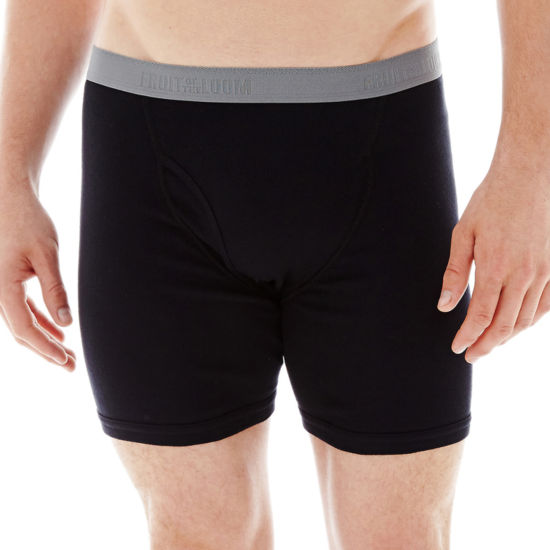 Fruit of the Loom® Premium Cotton Boxer Briefs 3+1 Bonus Pack - Big