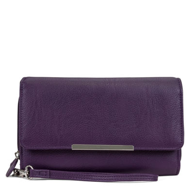 Mundi Big Fat Wallet RFID Blocking Checkbook Wallet