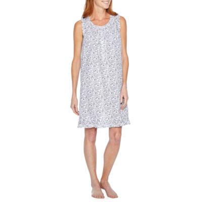 Adonna Woven Sleeveless Nightgown