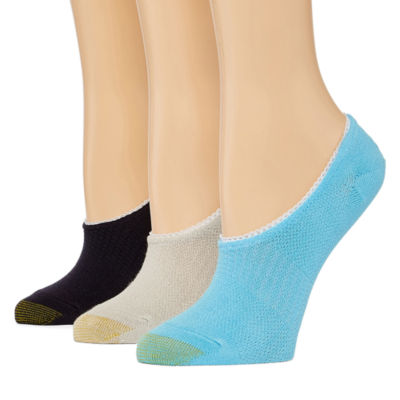 Gold Toe 3 Pair Knit Liner Socks - Womens
