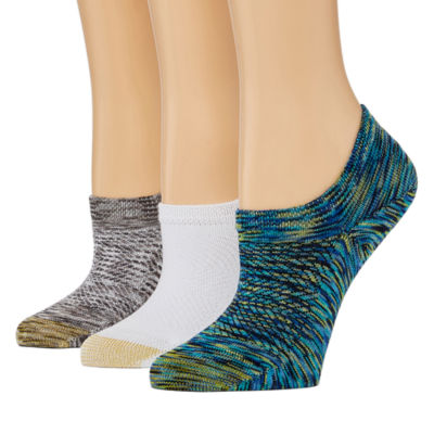 Gold Toe 3 Pair Knit Liner Socks - Womens