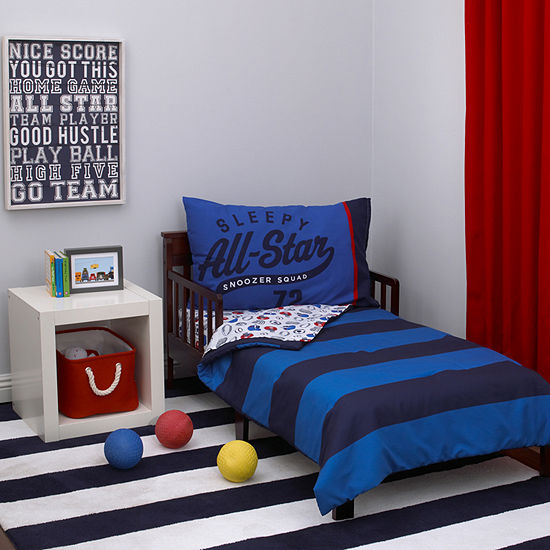 Carter's Boy Sport 4-pc. Toddler Bedding Set