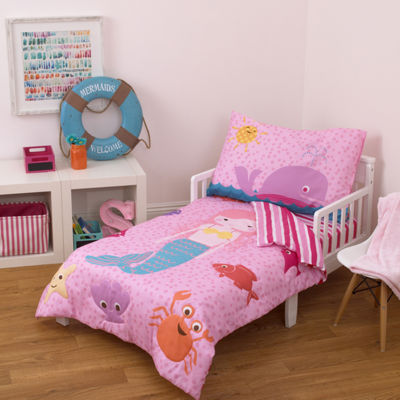 Little Tikes Mermaid 4-pc. Toddler Bedding Set