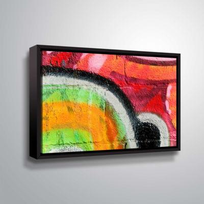 Brushstone Graf 31 !! Gallery Wrapped Floater-Framed Canvas