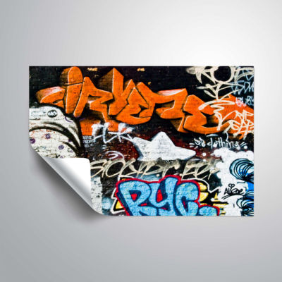 Brushstone Graff 1 Removable Wall Decal