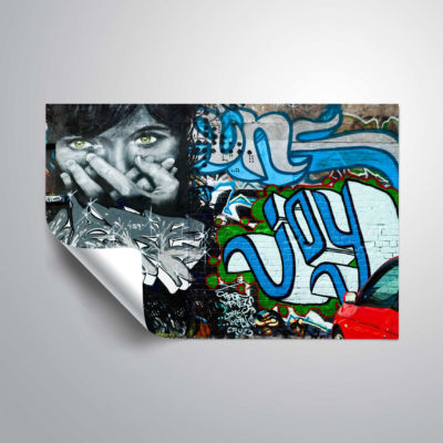 Brushstone Graf 4 (2) Removable Wall Decal