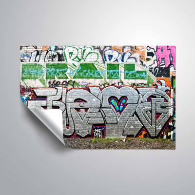 Brushstone Graf 9! Removable Wall Decal
