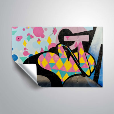 Brushstone Graff2 Removable Wall Decal