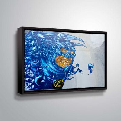 Brushstone Graff4 Gallery Wrapped Floater-Framed Canvas Wall Art