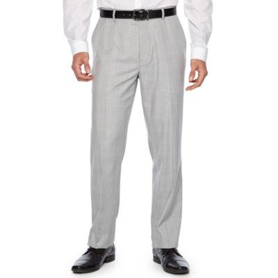 JF J.Ferrar Plaid Slim Fit Suit Pants