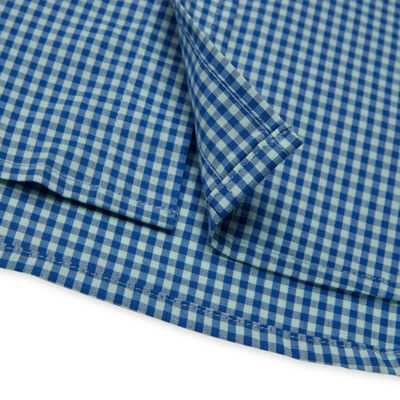 IZOD Long Sleeve Gingham Button-Front Shirt