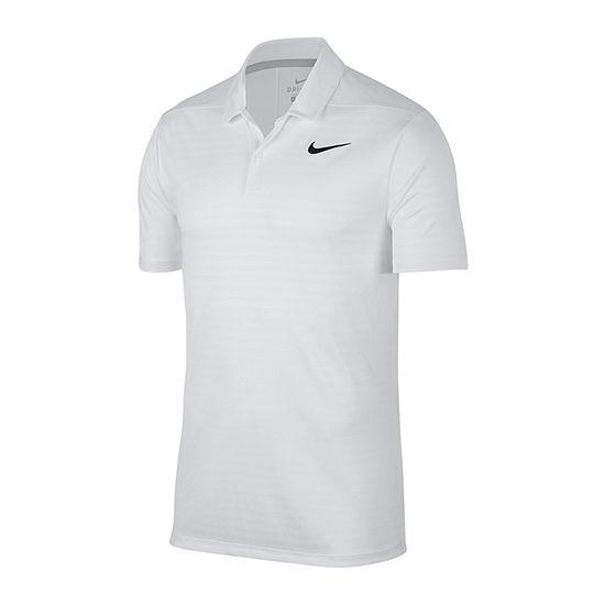 Nike Dri-Fit Essential Shadow Stripe Mens Short Sleeve Polo Shirt