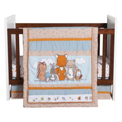 Wild Woods Bunch 3-pc. Crib Bedding Set