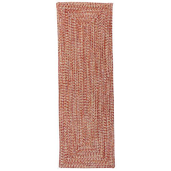 Colonial Mills® Blaise Tweed Reversible Indoor Outdoor Braided Runner Rugs