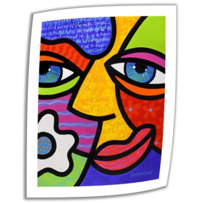 Brushstone Sabrina Starr Canvas Wall Art