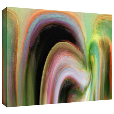 Brushstone Suculenta Polar Gallery Wrapped CanvasWall Art
