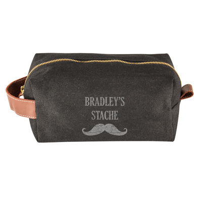 Cathy's Concepts Personalized Dopp Kit with Beard Care Set