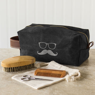Cathy's Concepts Dopp Kit with Beard Care Set