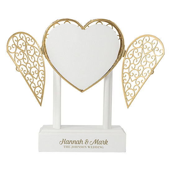 Cathy's Concepts Personalized Heart Vow Unity Keepsake