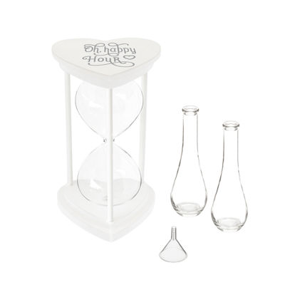 """Cathy's Concepts Oh, Happy Unity Sand Ceremony Hourglass Set"""