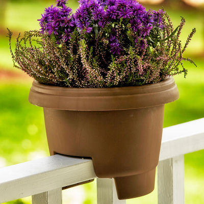 "Bloem Deck Rail 12"" Planter"