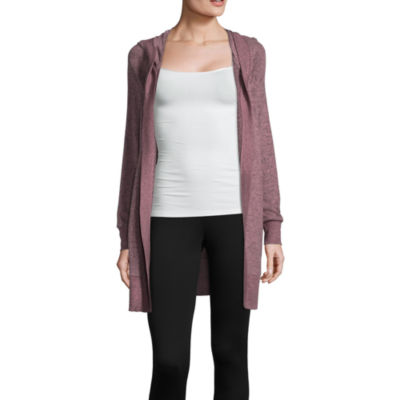 Flirtitude Hooded Cardigan - Juniors