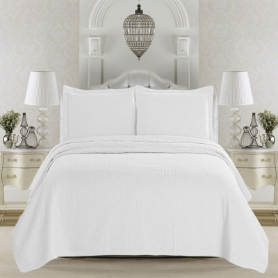 Great Bay Home Emerson Collection 3-Piece Microfiber Quilt Set with Shams