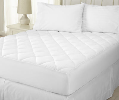 Merida Collection Ultra Soft Searsucker Embossed Mattress Pad by Home Fashion Designs